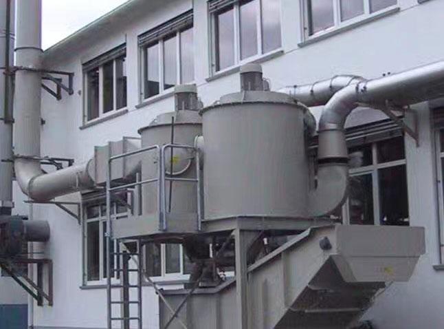 自动清淤湿式除尘系统